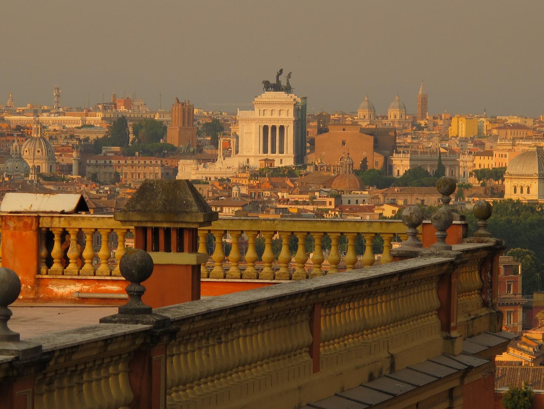 terrazza su Roma Foto % Immagini  paesaggi, formato panoramico ...
