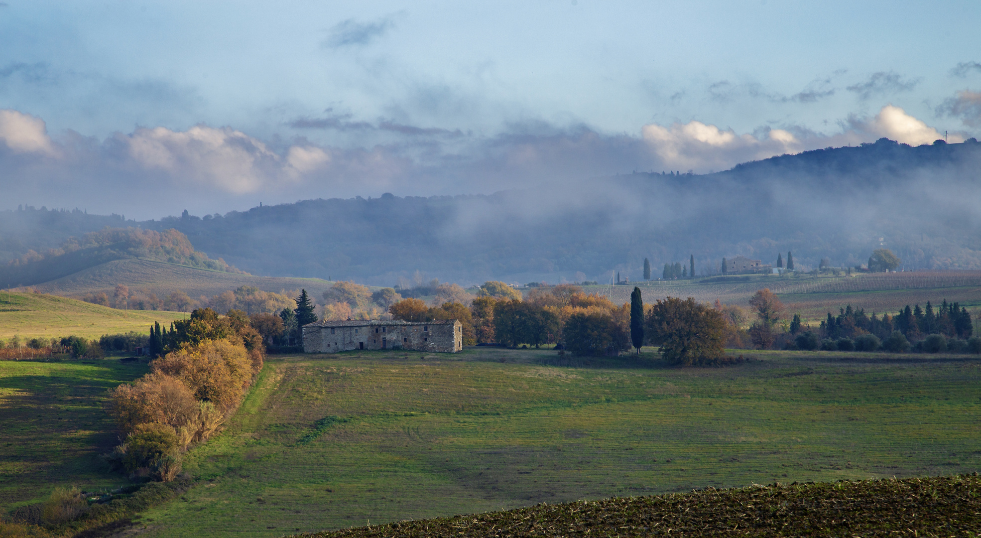 Terre senesi....The beauty of the Val d'Orcia