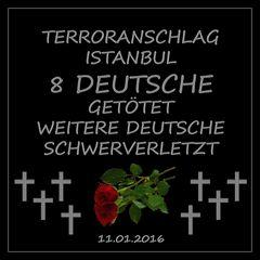 Terroranschlag Istanbul - 8 Tote aus Deutschland