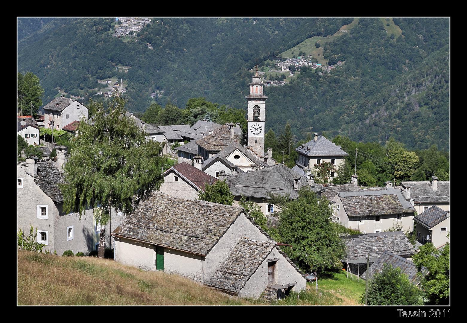 Tessin 2011 Rasa - das Dorf