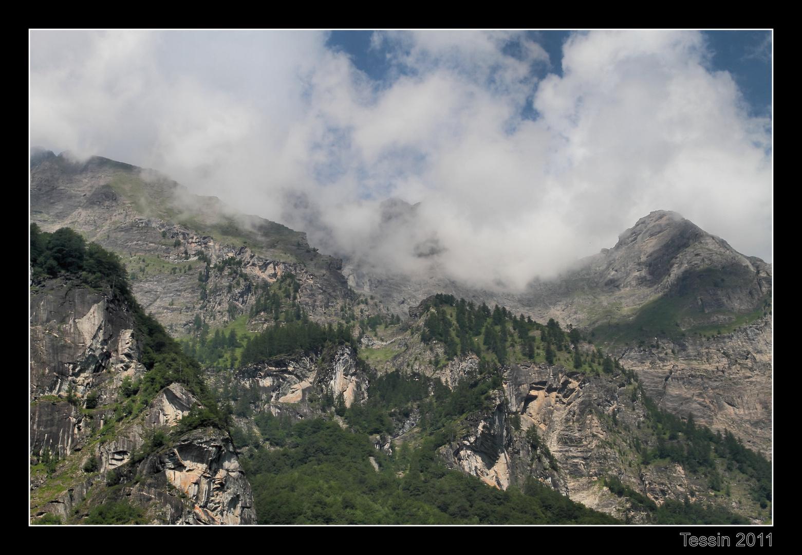Tessin 2011 Val Bavona Ausläufer Basodinomassiv