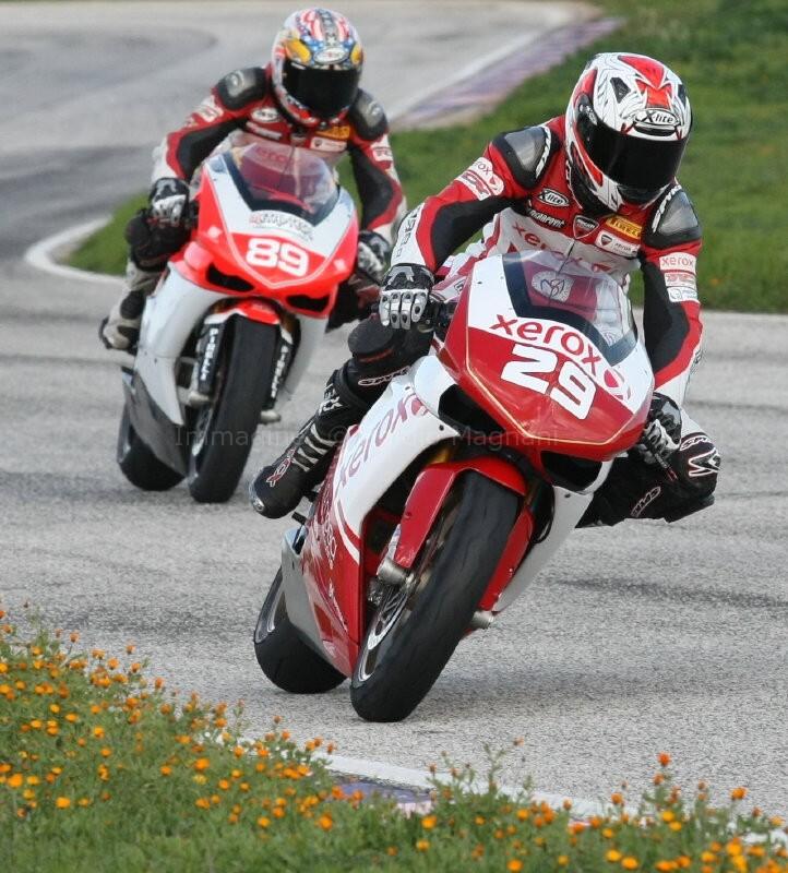 Test Ducati SBK 2009