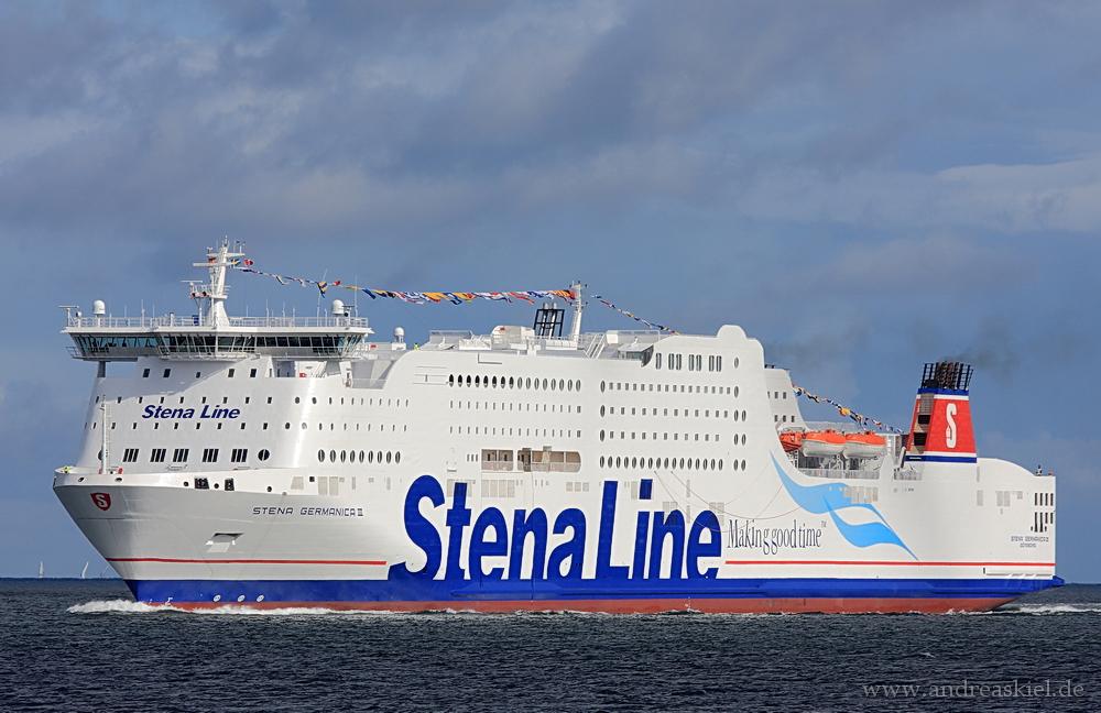 Testanlauf Stena Germanica III