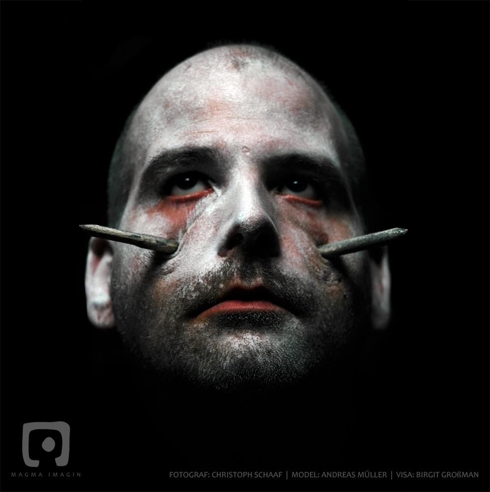 Testshooting für Rammstein Cover Serie