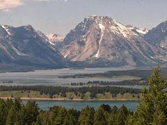 Teton NP mit Lake Jackson