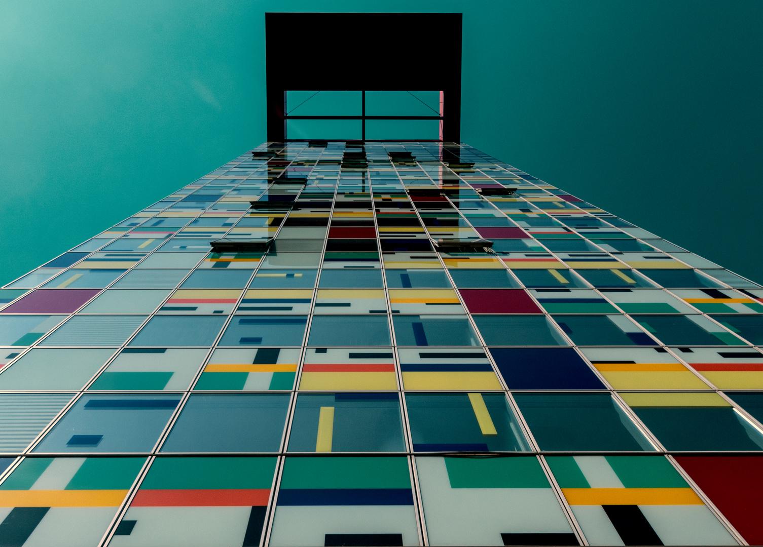Tetris-Haus