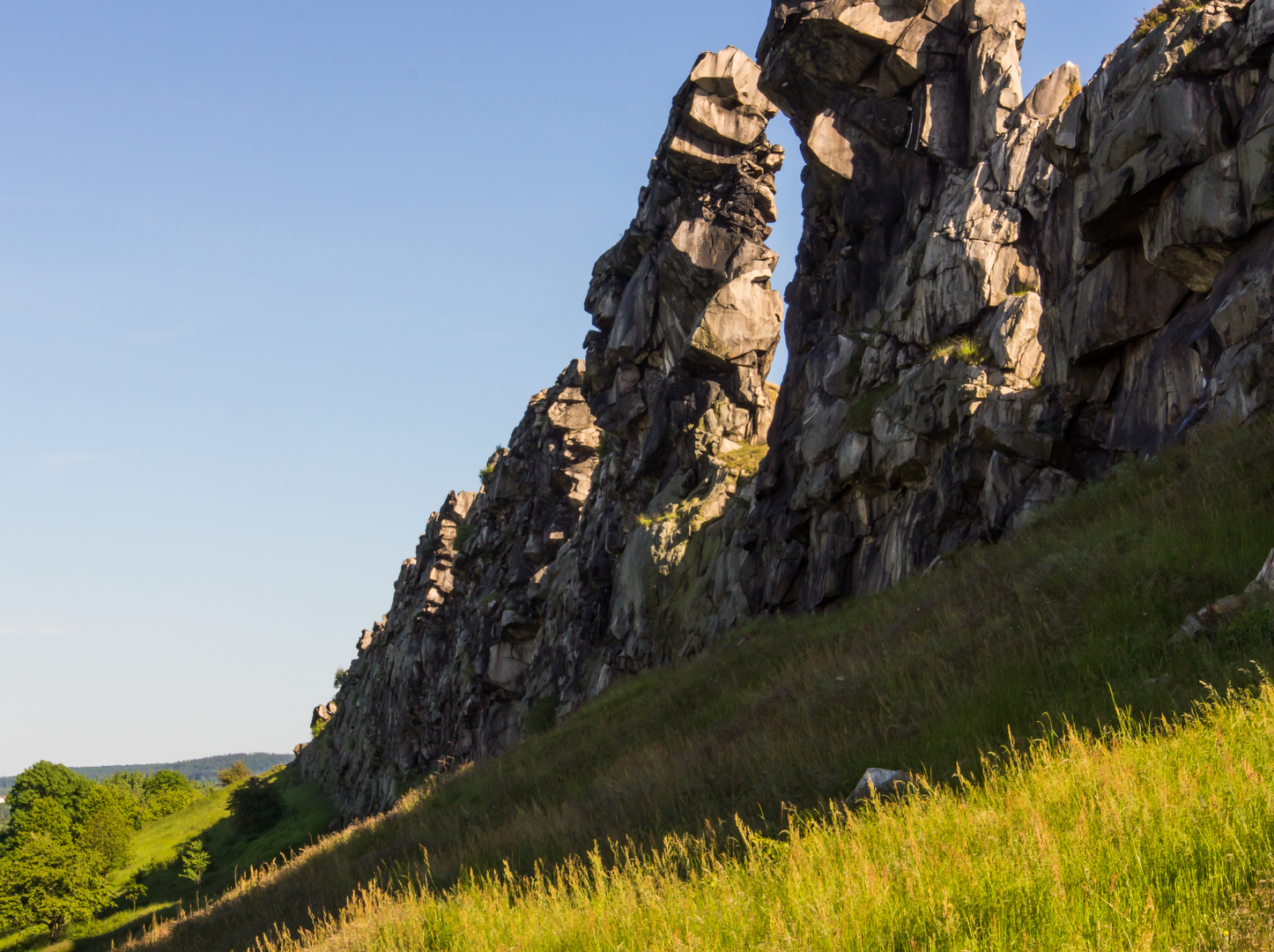 Teufelsmauer IV - bei Neinstedt/Ostharz