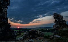 Teufelsmauer - sunrise -