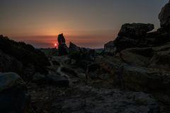 Teufelsmauer  --sunset--
