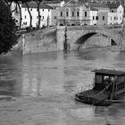 Tevere river