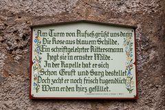 Text Schloss Aufseß