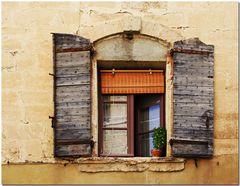 Textures autour d'une fenêtre