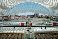 TGV-Bahnhof Liège-Guillemins in Belgien 4