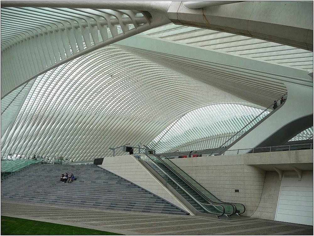 TGV-Bahnhof Liège-Guillemins in Belgien