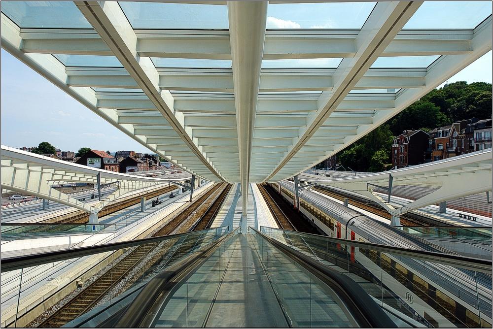TGV-Bahnhof Liège-Guillemins in Belgien 6
