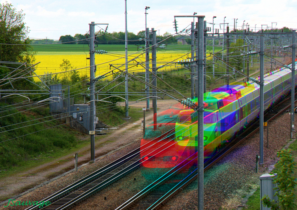 TGV en trichromie (2)