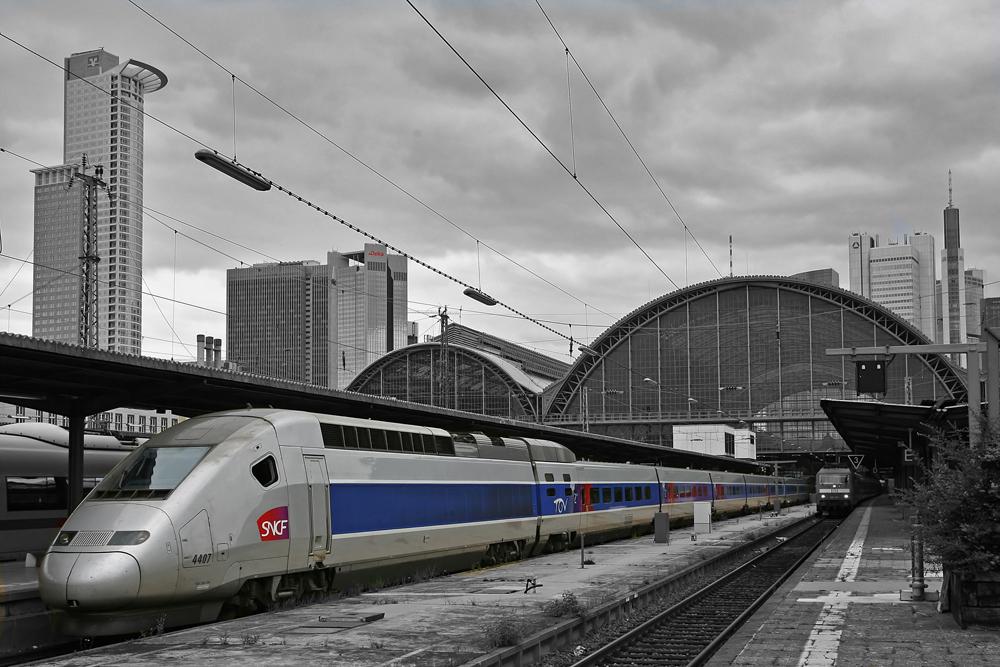 TGV Frankfurt-Paris