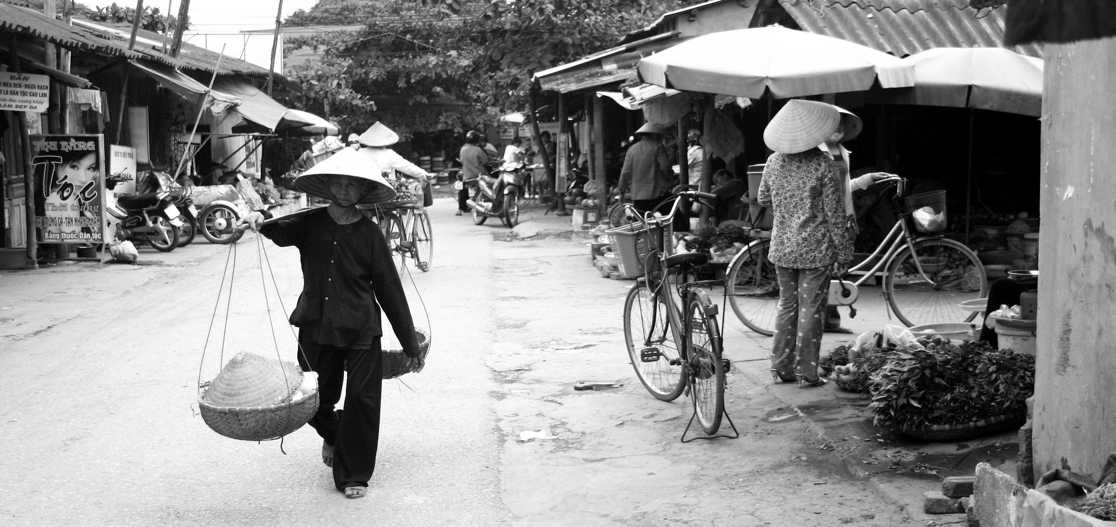 Thai Nguyen Market, VN
