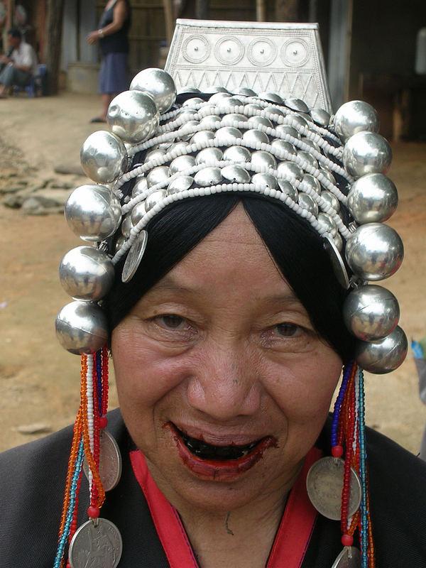 thai tribu woman