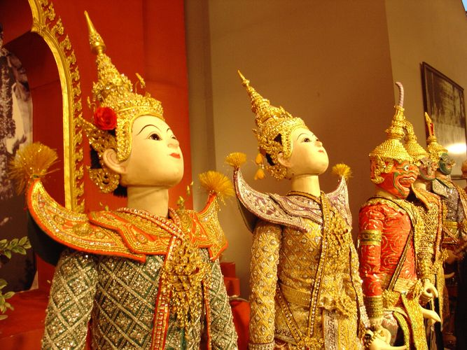 Thailaendisches Puppentheater