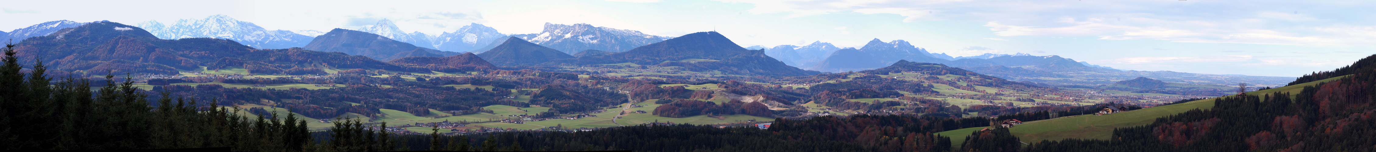 Thalgauberg-Westblickpanorama