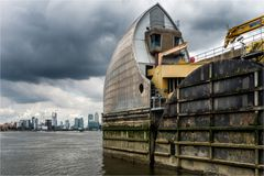 Thames Barrier und Docklands