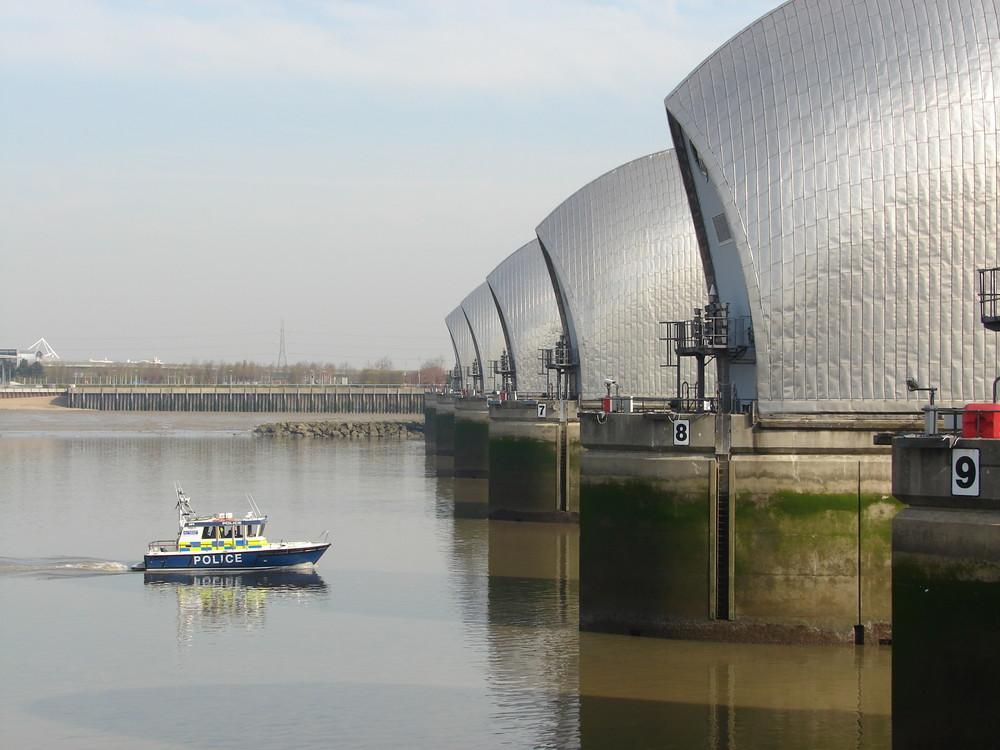 Thames Sci-Fi Barrier