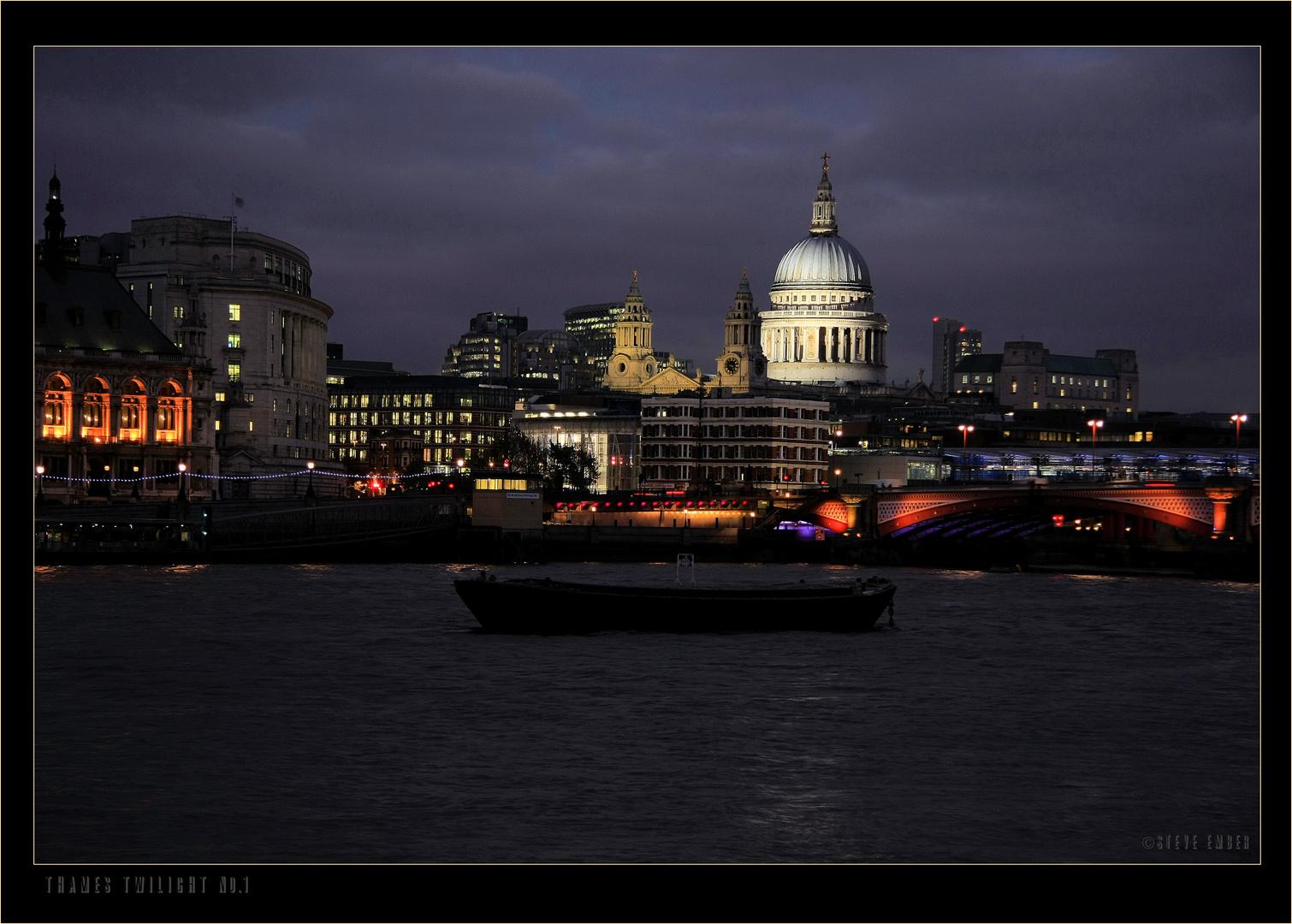 Thames Twilight No.1
