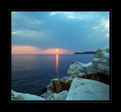 thassos sunset