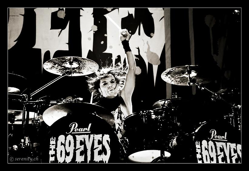 The 69 Eyes III @ Z7, Pratteln