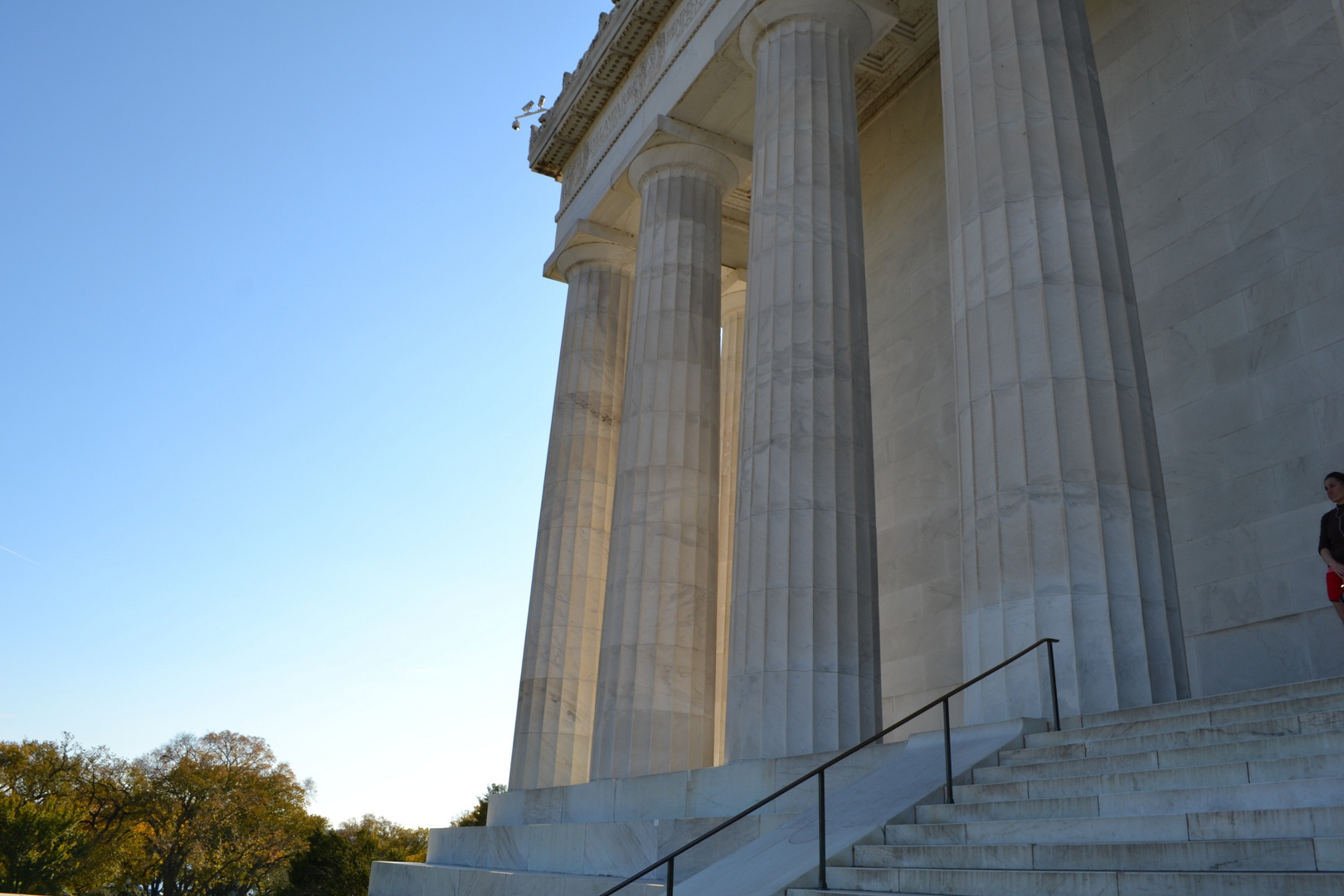 The Abraham Lincoln Memorial in Washington, D.C.