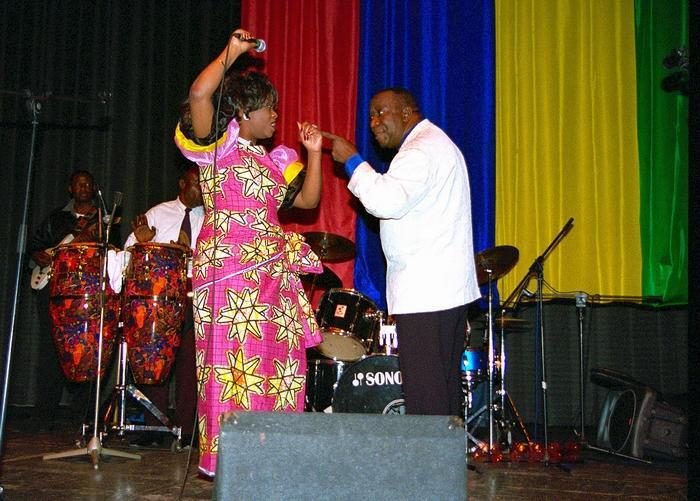The African Legend Tabu Ley Rocherau