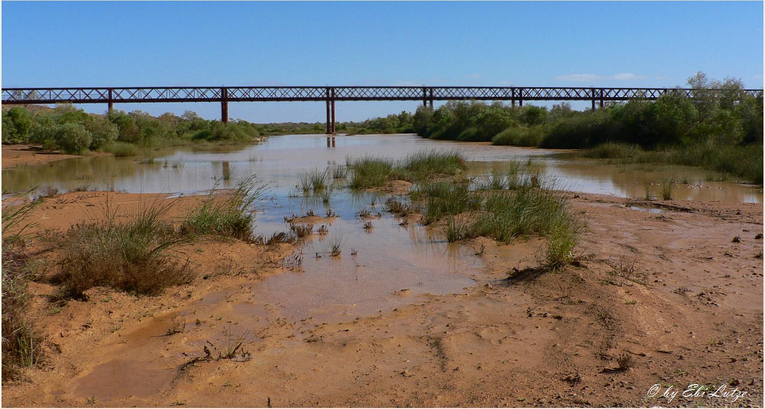 ** The Algebuckina Bridge / Oodnatatta Track **