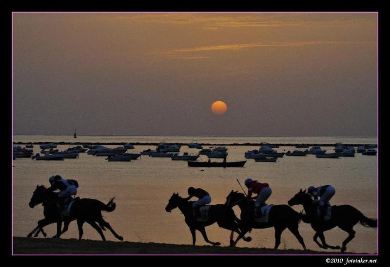 the Annual Horse Races ~ Sanlucar de Barrameda (Cadiz)