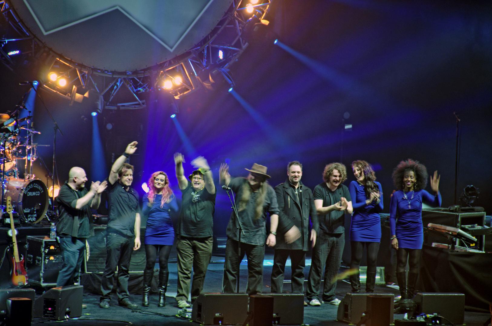 The Australian Pink Floyd Show Band O2 World Hamburg