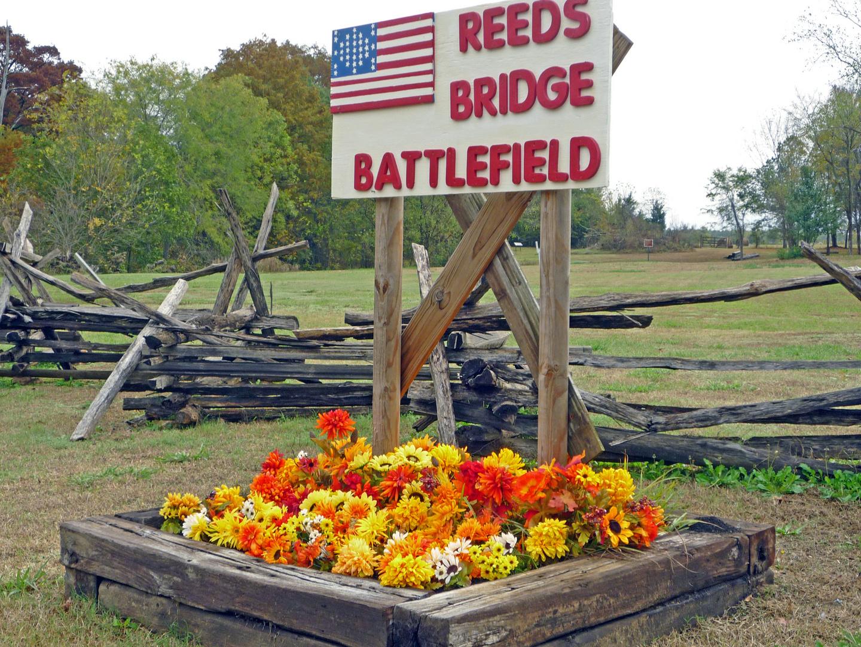 The Battle field at Reeds Bridge