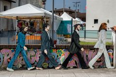 The Beatles a Zibido San Giacomo