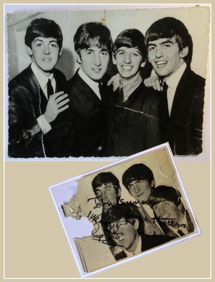 The Beatles wie dazumal