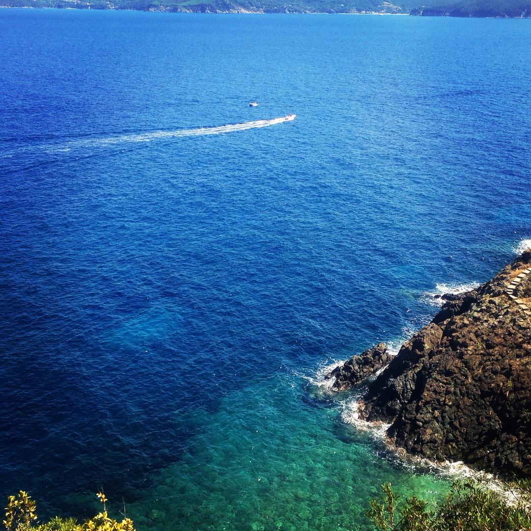 The beautiful island Elba
