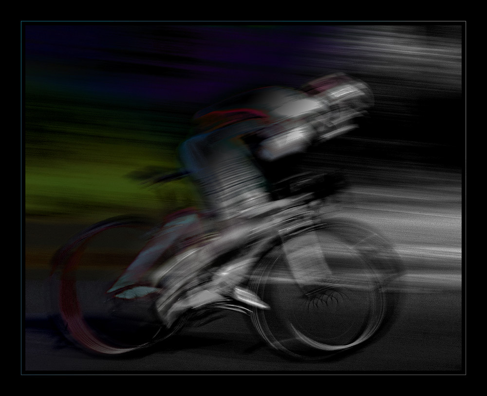 the bicyclist