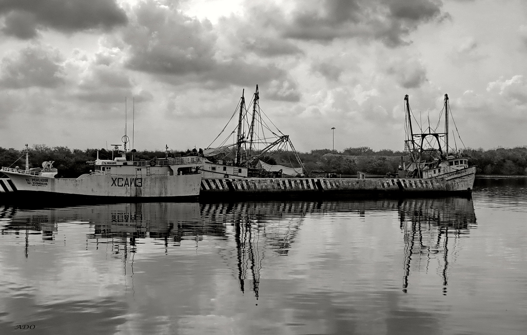 The Big Fishing Trawlers