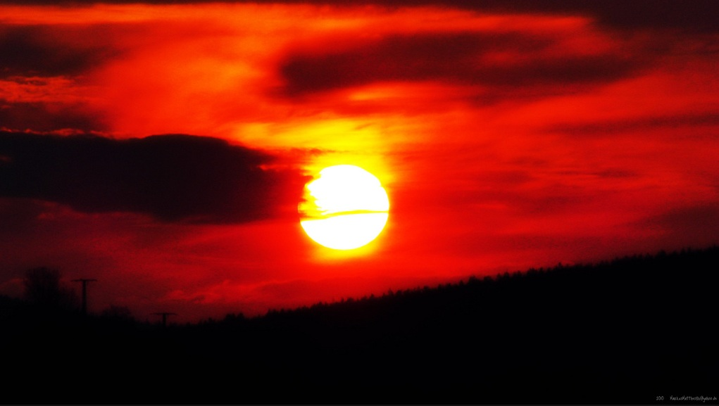 The big Red Sun