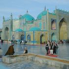 The Blue Mosque of Mazar