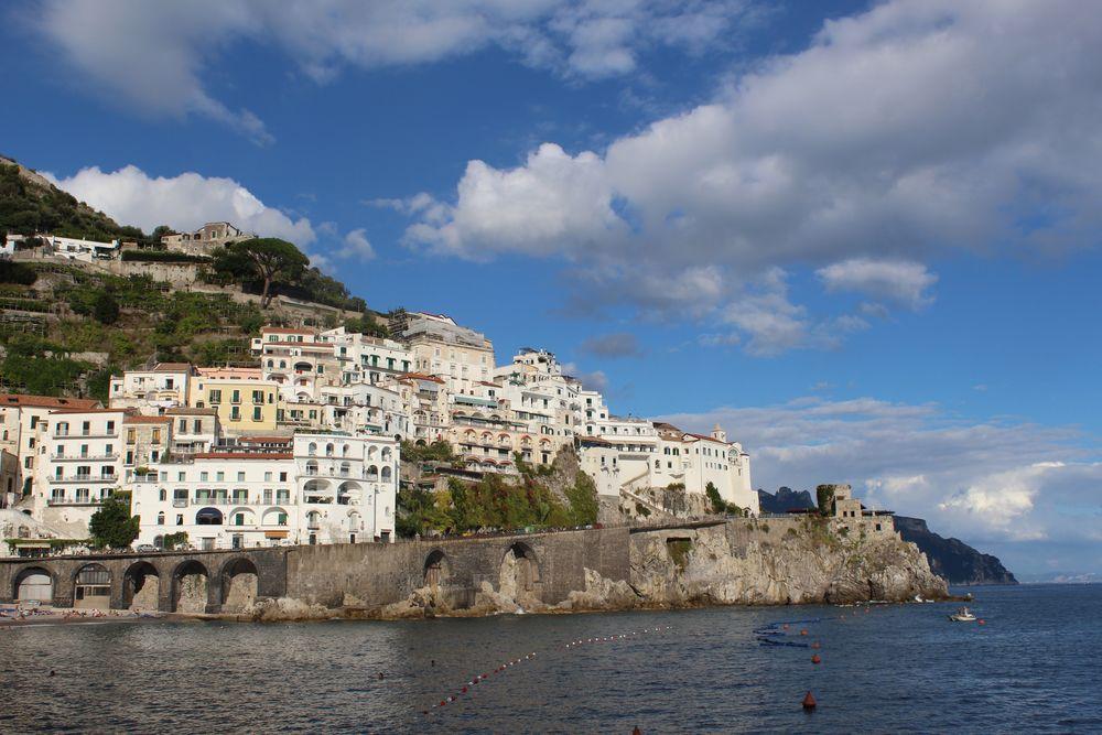 The blue Sky of Amalfi