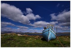 the blue wreck..........