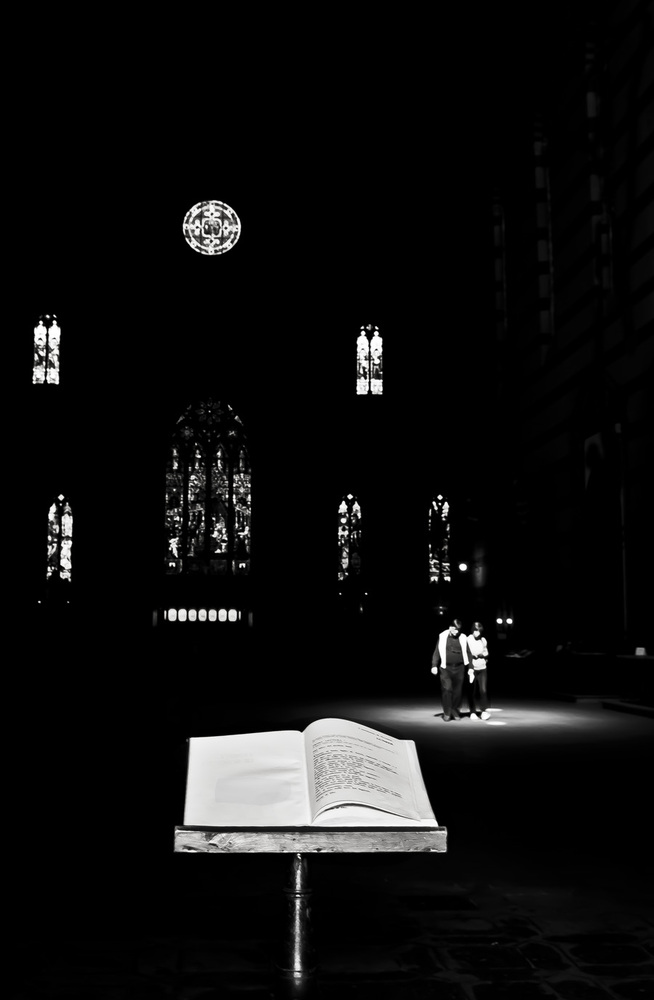 The book and the light