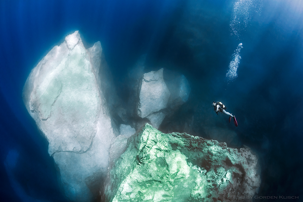The Boulders of Azure Window