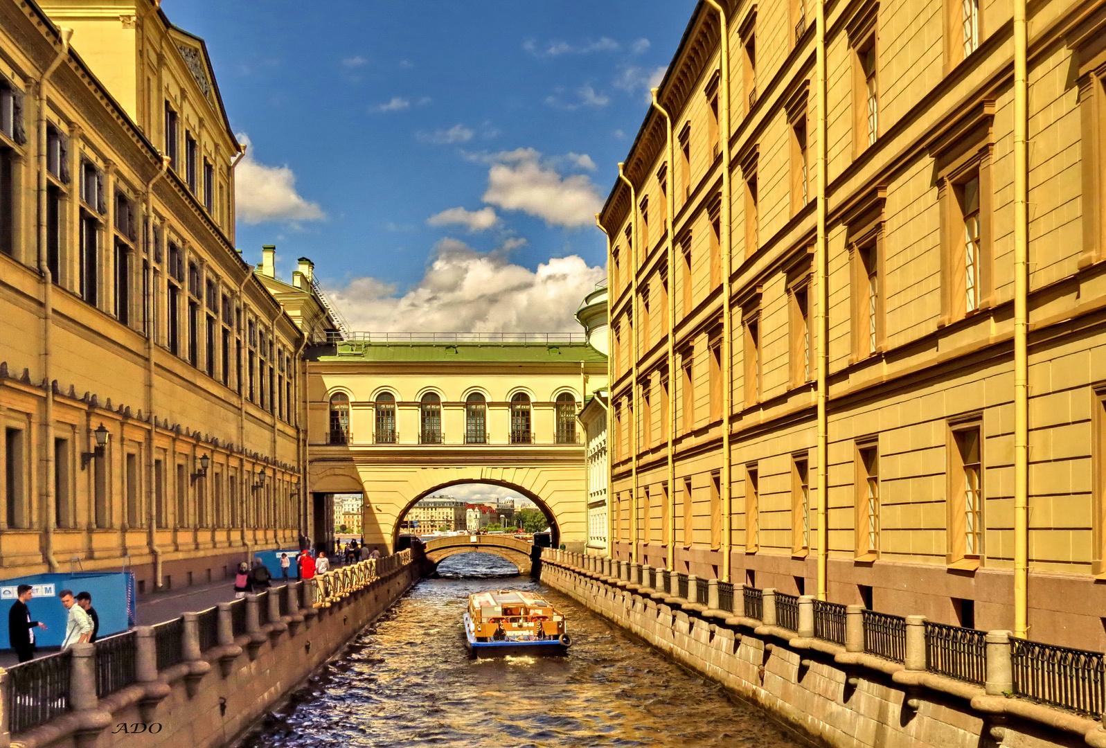 The Bridge of ..... in St. Petersburg