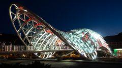 The Bridge of Peace at Night (1)