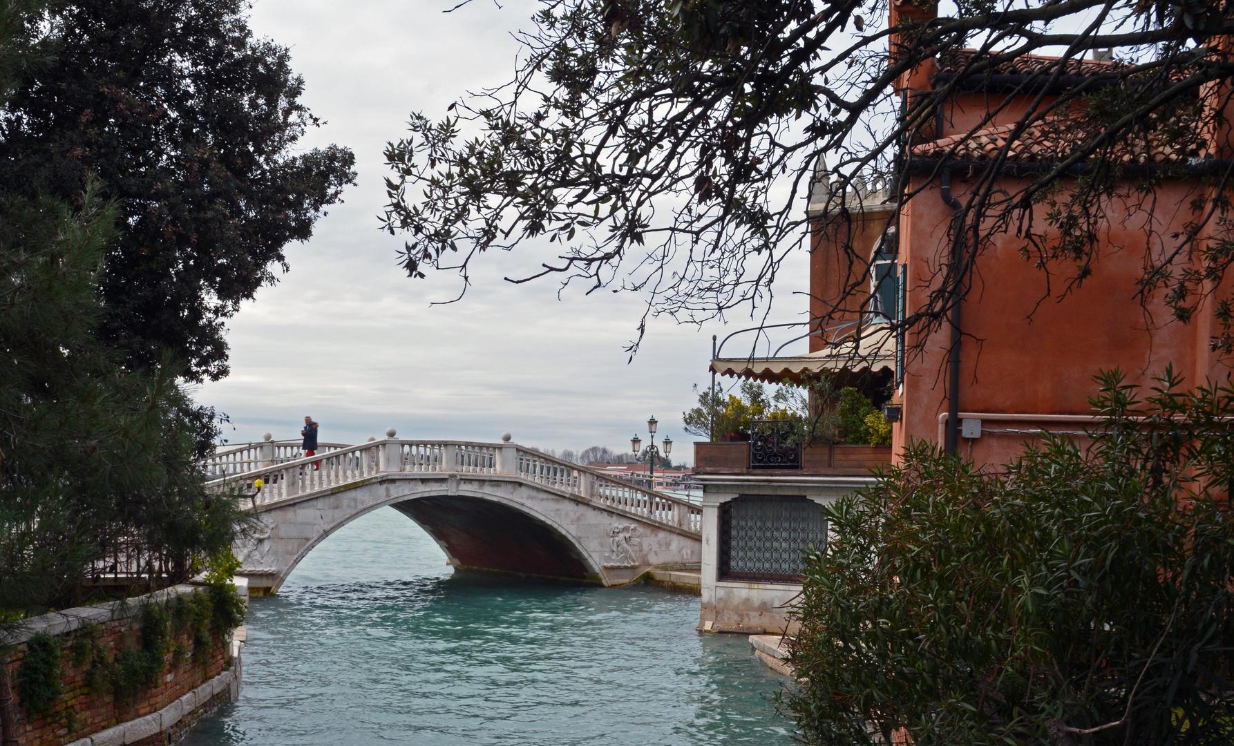 The bridge on Venice